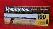 "Remington 12ga - 2-3/4"" Shells - 8 Shot - 100rd Value Pack"